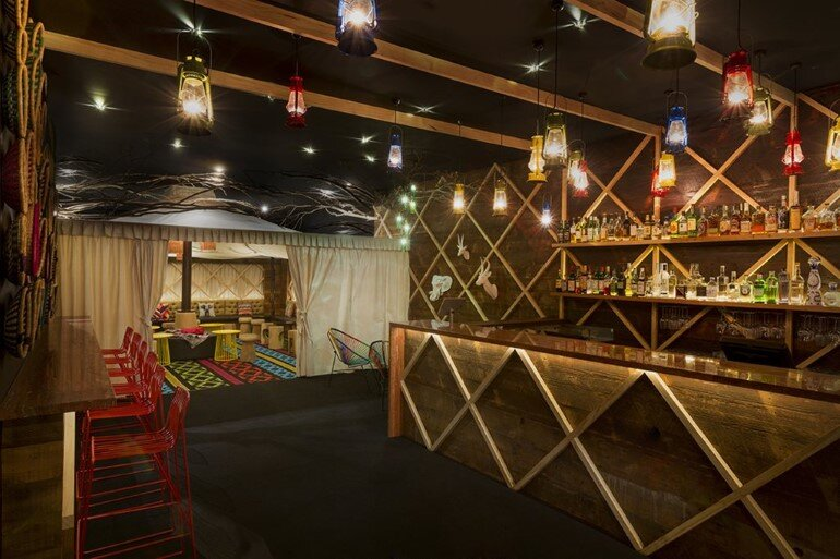Glamp Cocktail Bar Was Designed in African Style by Studio Equator (3)