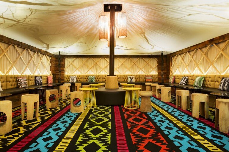 Glamp Cocktail Bar Was Designed in African Style by Studio Equator (8)