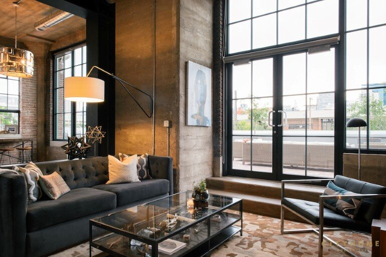 Industrial Loft With Gothic Accents in Salt Lake City (1)