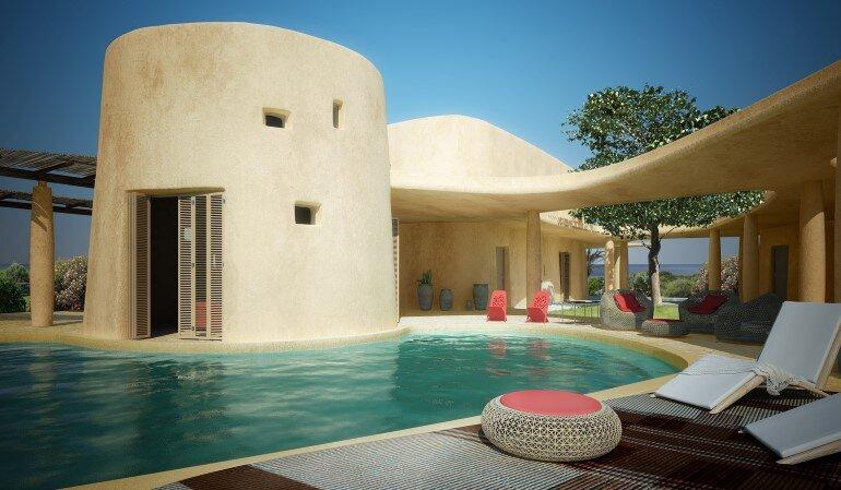 Is Molas Resort Complex in Sardinia, Italy