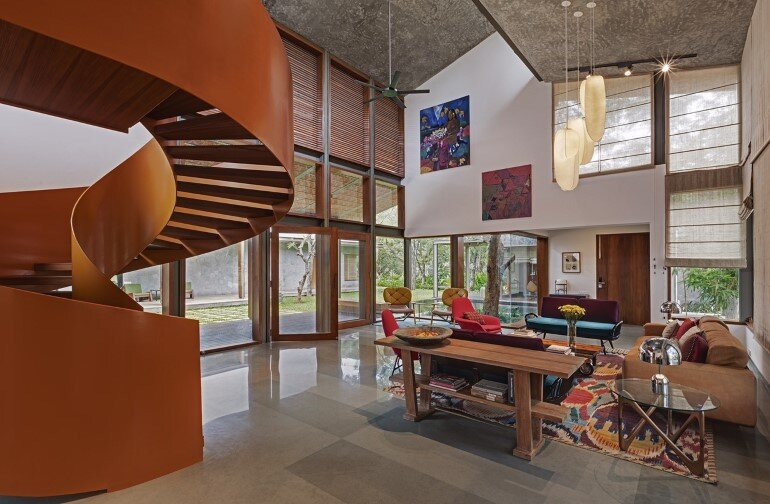 Krishnan house by Khosla Associates (6)