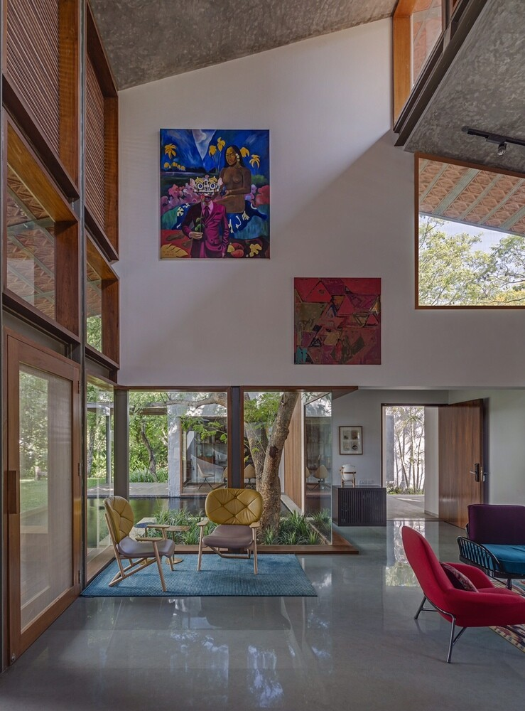 Krishnan house by Khosla Associates (7)