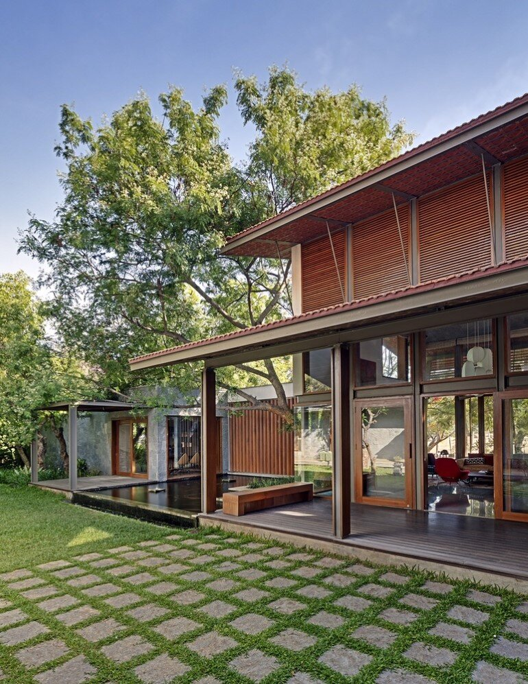 Krishnan house by Khosla Associates (9)