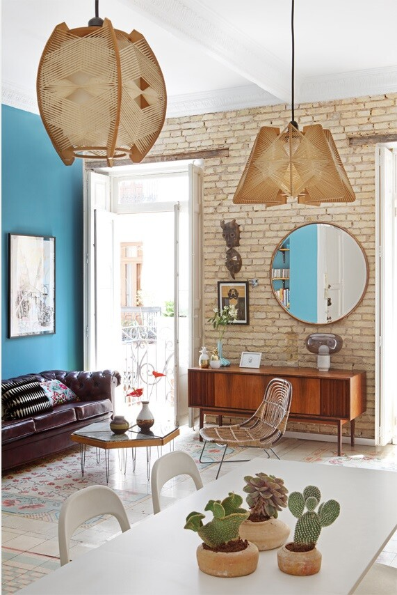 Loft in Valencia - Unmistakable Bohemian Bourgeois Décor (4)