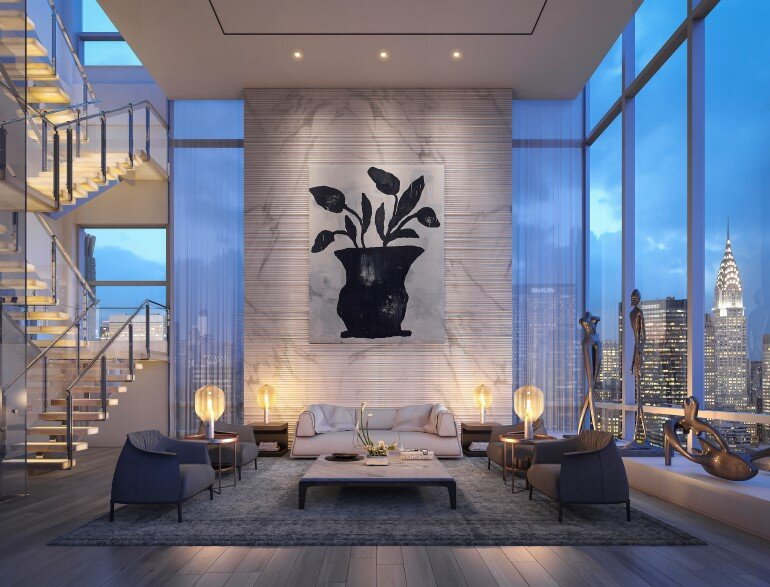 Madison Avenue Penthouse by ODA Architecture