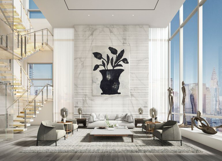 Madison Avenue Penthouse by ODA Architecture (2)