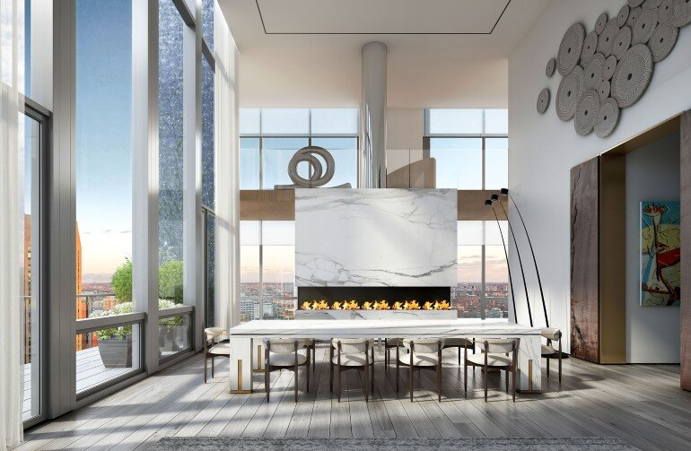 Madison Avenue Penthouse by ODA Architecture (3)