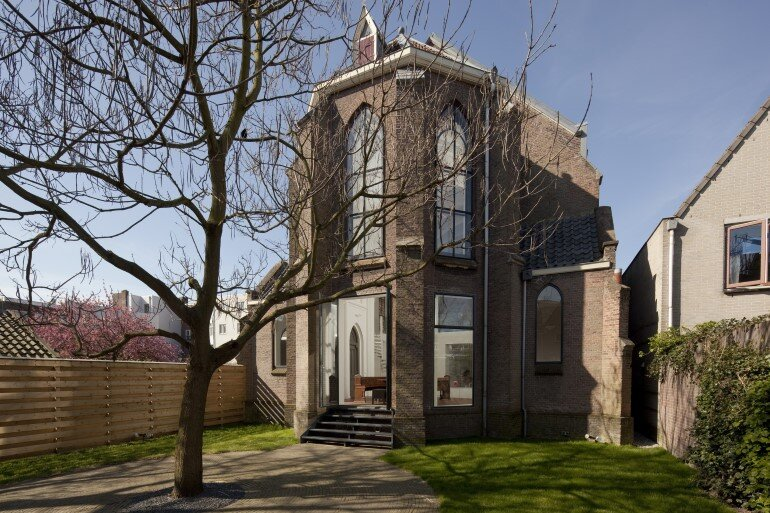 Old Catholic Church Converted into a Spacious House (1)