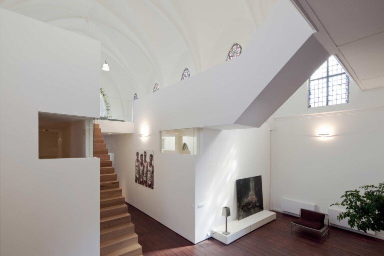 Old Catholic Church Converted into a Spacious House (12)