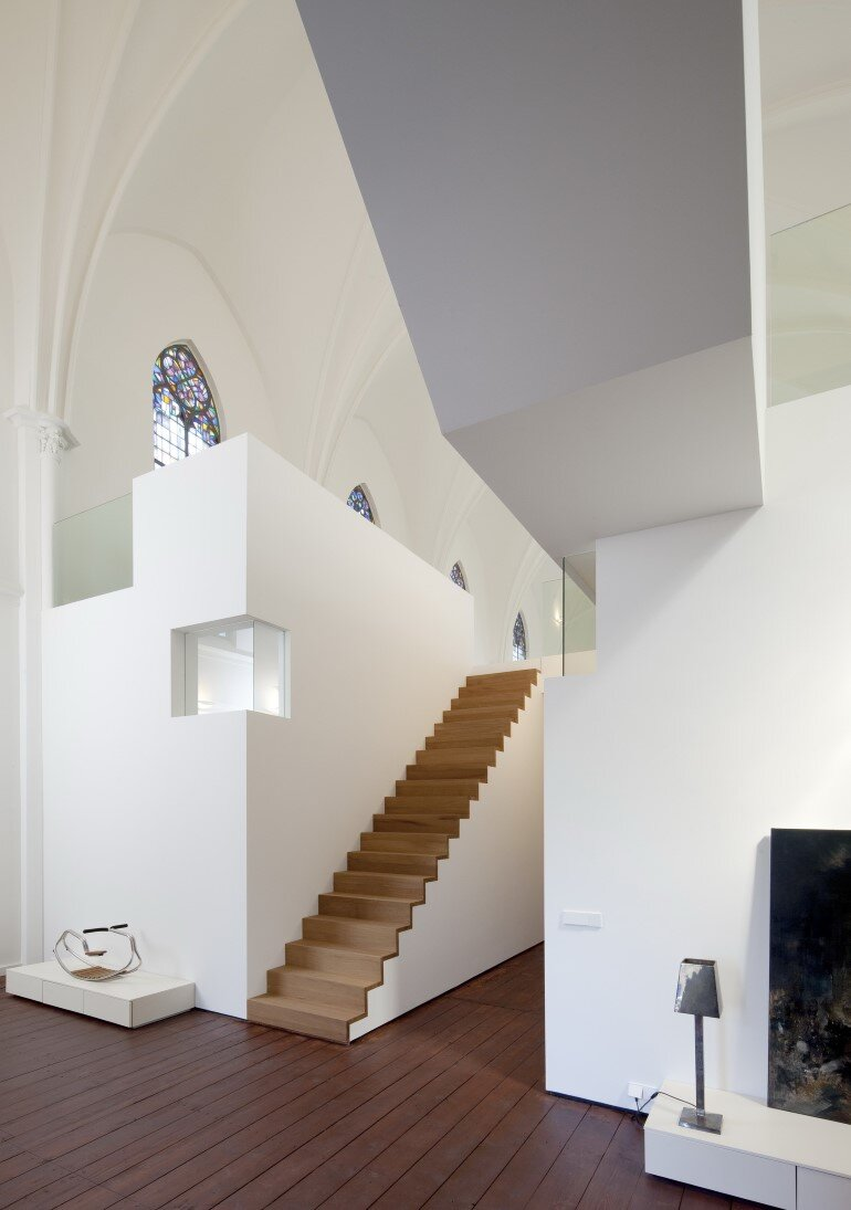 Old Catholic Church Converted into a Spacious House (3)