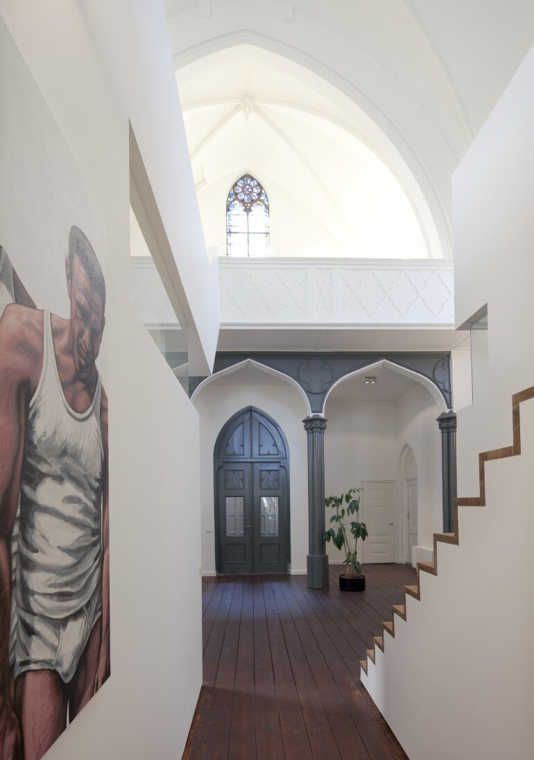 Old Catholic Church Converted into a Spacious House (4)