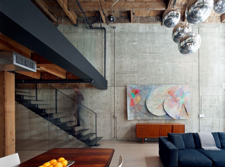 Oriental Warehouse Loft - a Complete Reconfiguration and Renovation of a Loft Apartment