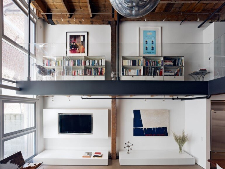 Oriental Warehouse Loft - a Complete Reconfiguration and Renovation of a Loft Apartment (2)