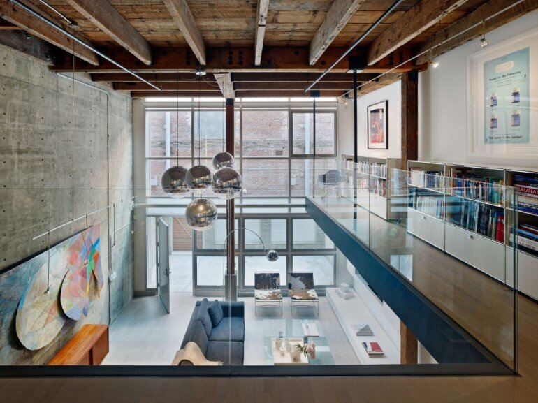 Oriental Warehouse Loft - a Complete Reconfiguration and Renovation of a Loft Apartment (5)