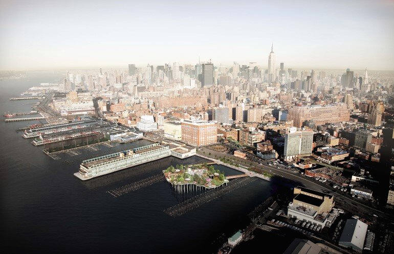 Pier 55 is a New Park and Performance Space in the Hudson River (1)