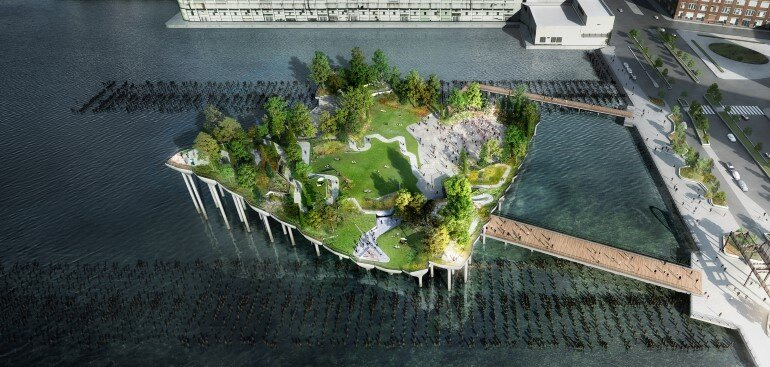 Pier 55 is a New Park and Performance Space in the Hudson River (2)