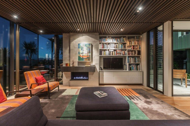 Spectacular Clifftop House in Auckland by Xsite Architects (11)