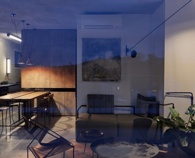 The Loft Hrebenky Combines Rawness and Plenty of Tailor-Made Pieces (1)