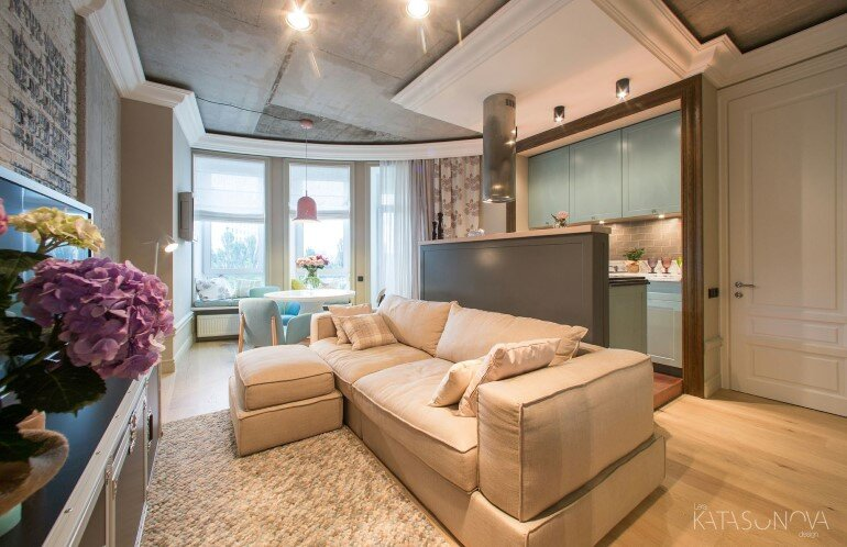 This Small Apartment Was Designed for a Young Woman (11)