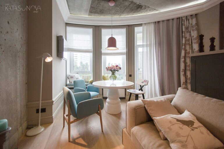 This Small Apartment Was Designed for a Young Woman (12)