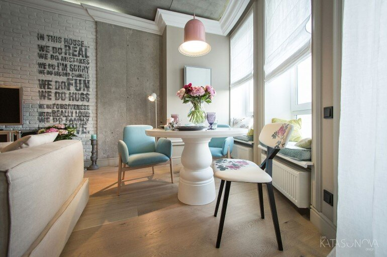 This Small Apartment Was Designed for a Young Woman (3)