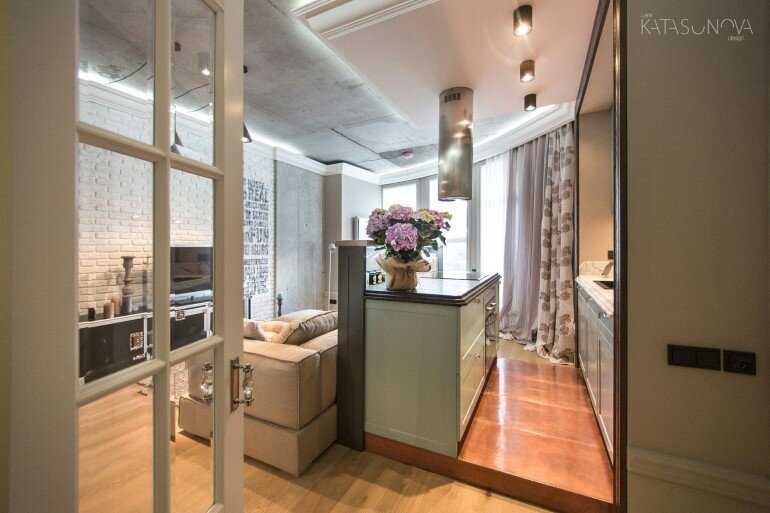 This Small Apartment Was Designed for a Young Woman (4)