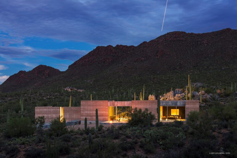 Tucson Mountain Retreat, Tucson, Arizona, DUST, architect/contractor