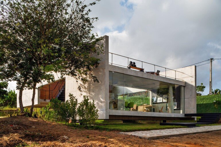 Two Beams House - Wiew, Ventilation and Natural Lighting (13)