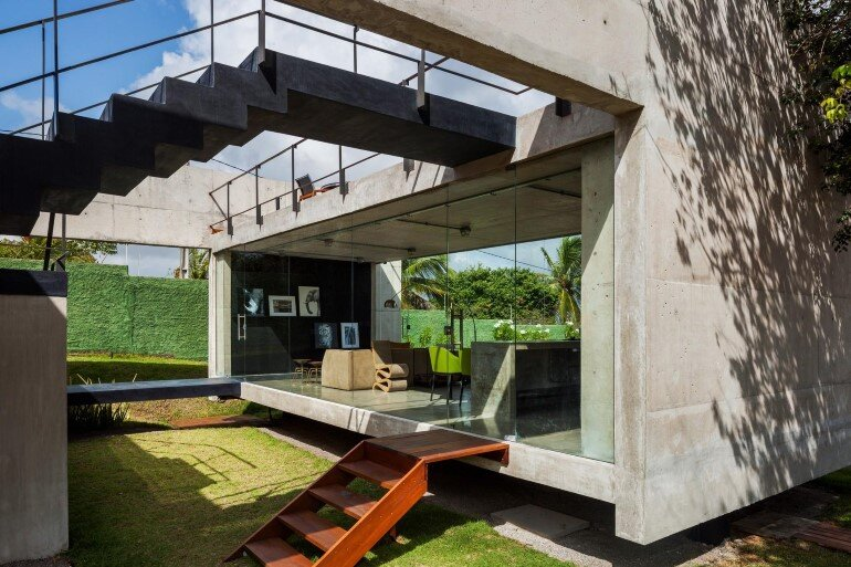 Two Beams House - Wiew, Ventilation and Natural Lighting (5)