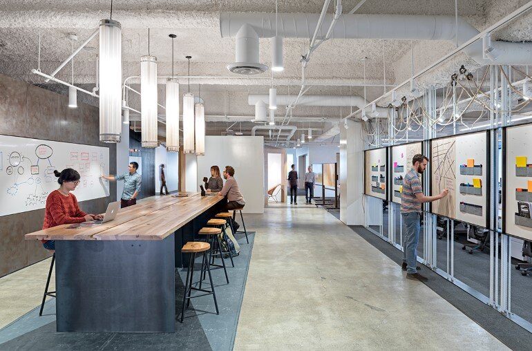 Uber offices in san francisco by studio o a Design companies in san francisco