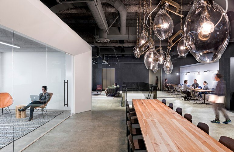 uber offices in san francisco by studio o a. Black Bedroom Furniture Sets. Home Design Ideas