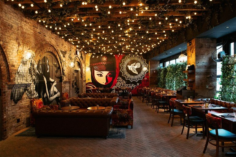 Vandal restaurant celebrates street art and food