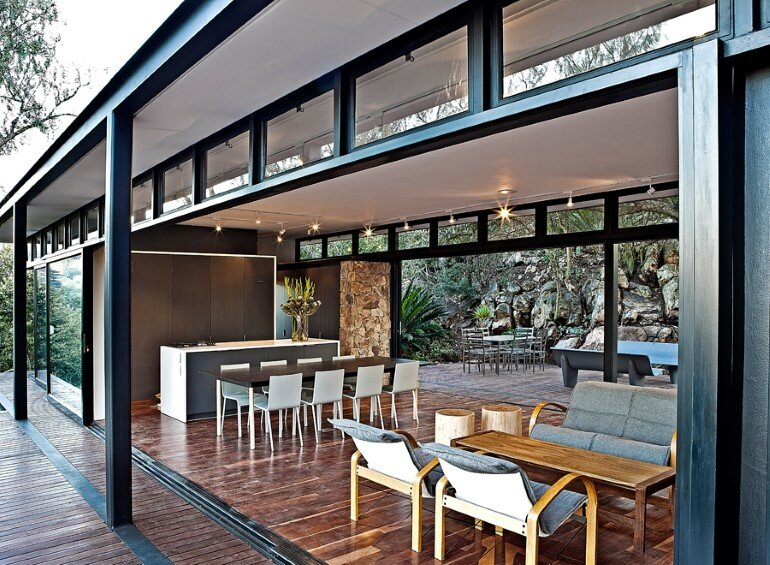 Westcliff Pavilion - Steel-Framed Cottage Located in Johannesburg (5)