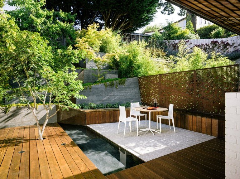 Zen Outdoor Living Space - Hilgard Garden (1)