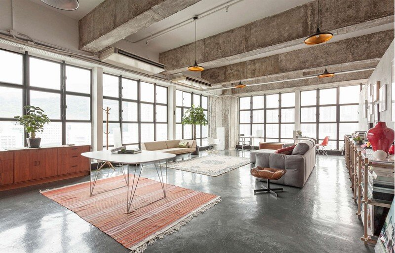 Art Loft in Chai Wan, Hong Kong Mass Operations (1)