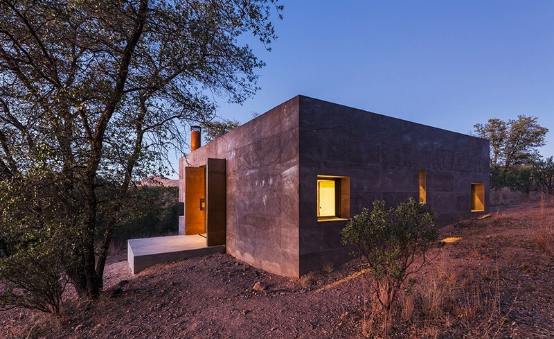 Casa Caldera - Small Shelter in Arizona by DUST (17)