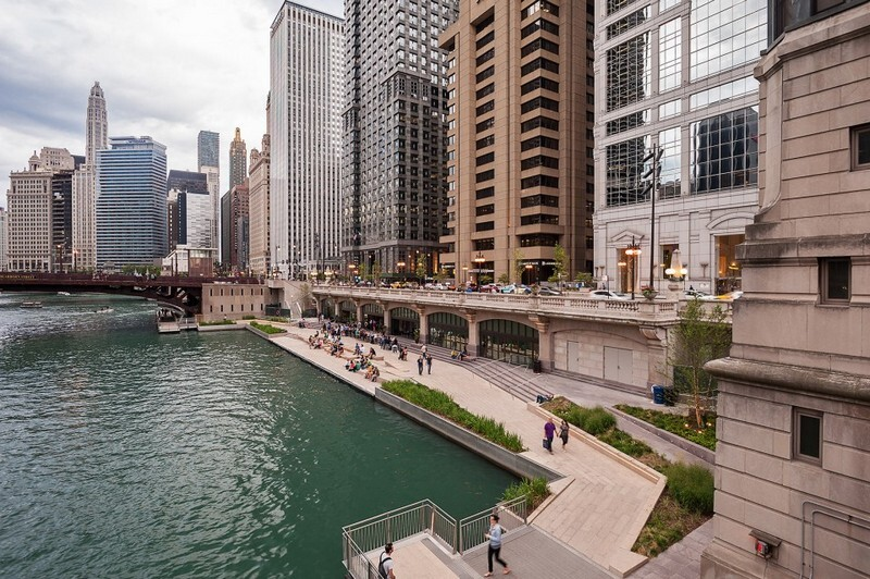 Chicago Riverwalk by Sasaki Associates (12)