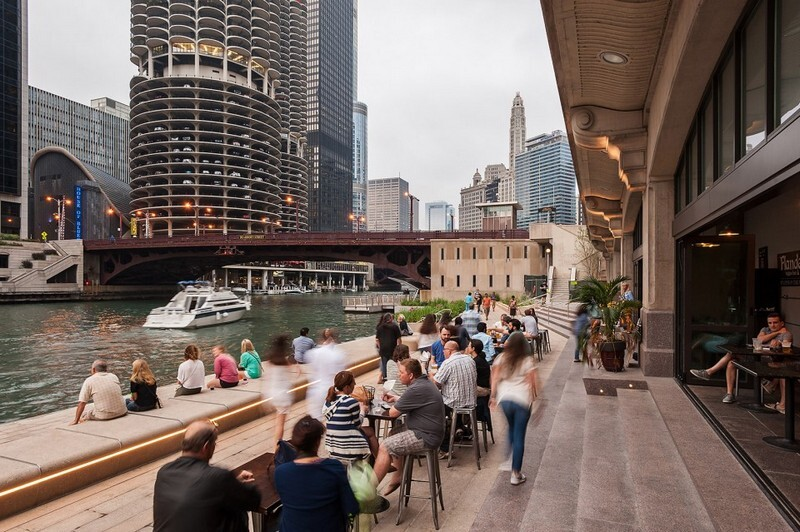 Chicago Riverwalk by Sasaki Associates (13)