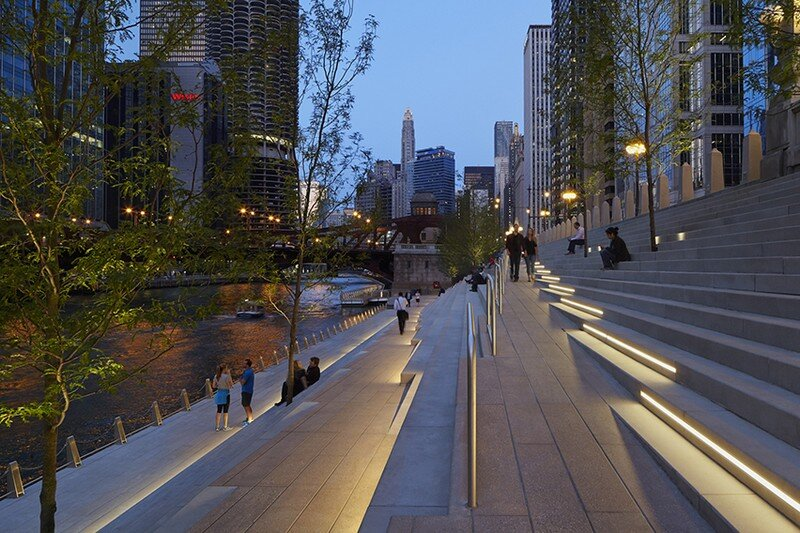 Chicago Riverwalk by Sasaki Associates (15)