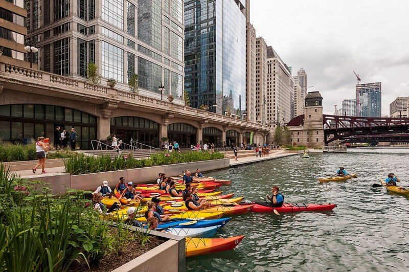 Chicago Riverwalk by Sasaki Associates (17)