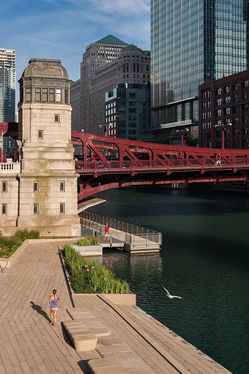Chicago Riverwalk by Sasaki Associates (18)