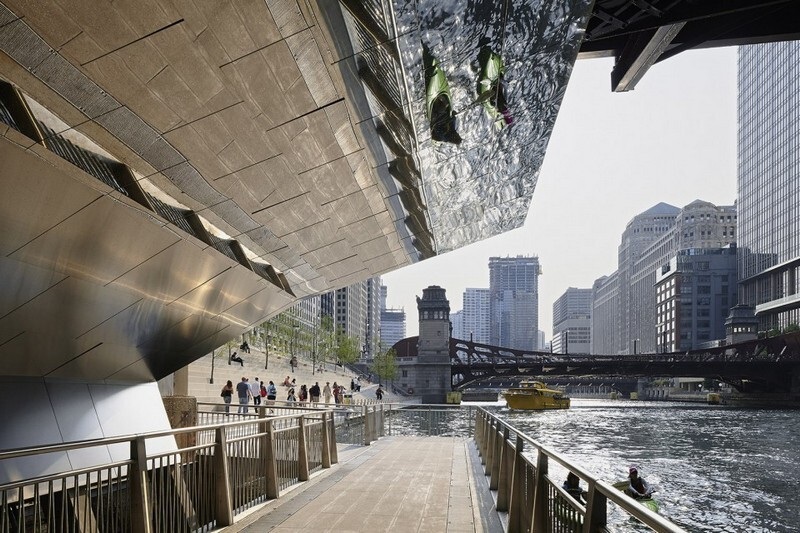 Chicago Riverwalk by Sasaki Associates (20)