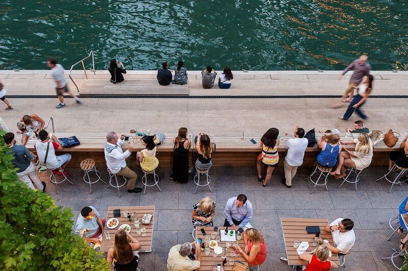Chicago Riverwalk by Sasaki Associates (3)