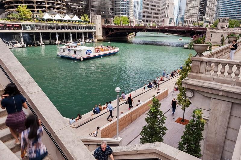 Chicago Riverwalk by Sasaki Associates (7)