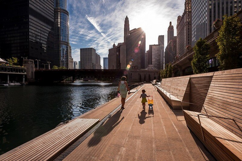 Chicago Riverwalk by Sasaki Associates (9)