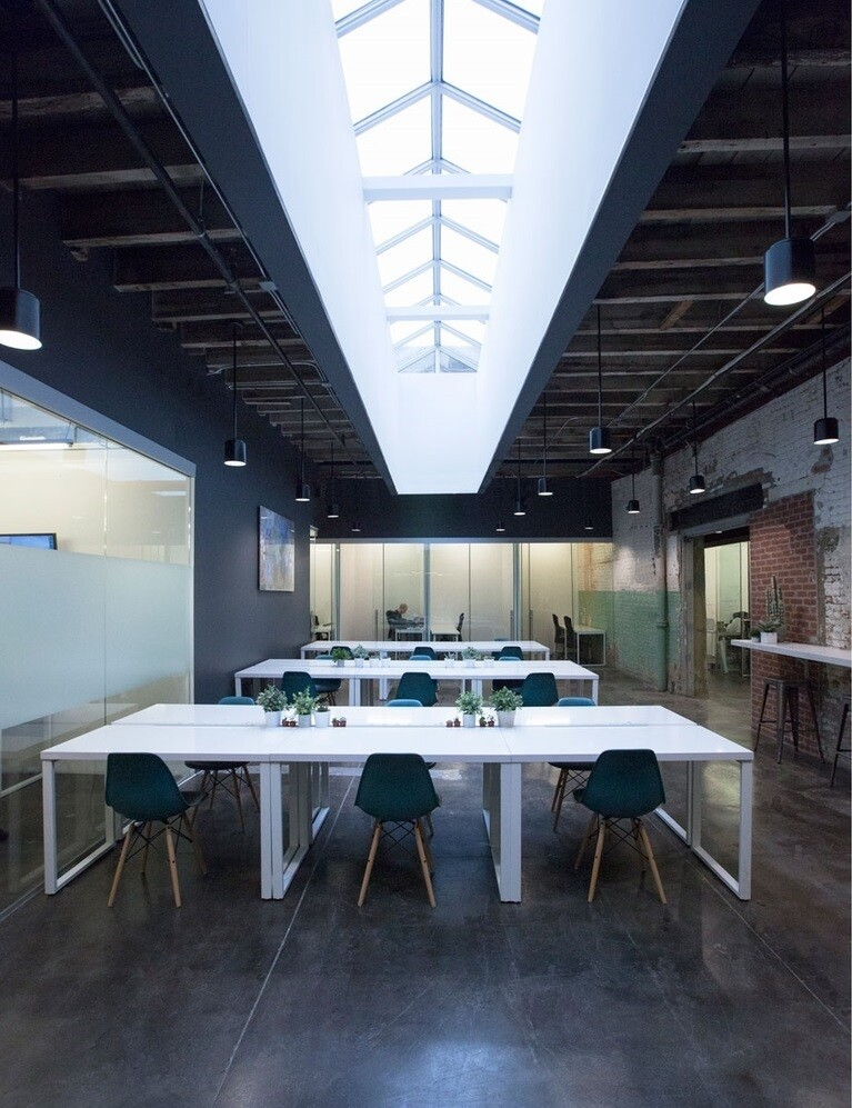 Coworkrs Offices - New Life for an Industrial Building in Brooklyn (2)