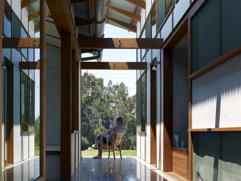 Dogtrot House by Dunn & Hillam Architects (11)
