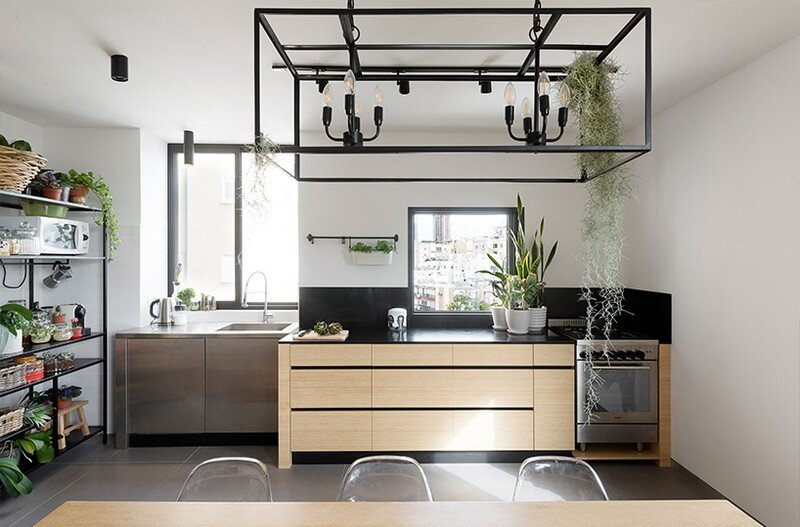 Duplex Apartment in Tel Aviv Fun-ctional Box by K.O.T Project (6)