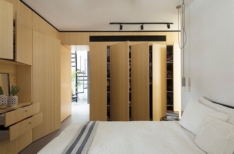 Duplex Apartment in Tel Aviv Fun-ctional Box by K.O.T Project (7)