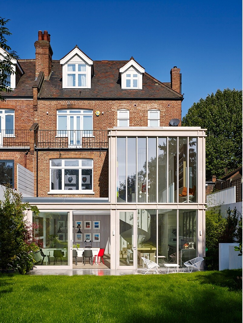 Edwardian Home in West London Andy Martin Architecture (1)